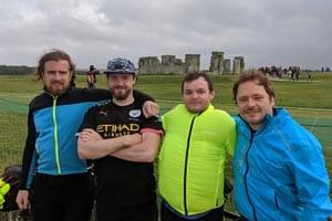 stonehenge cycling fundraiser